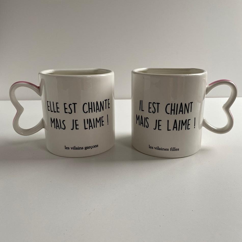 Coffret 2 mugs Mais je l'aime