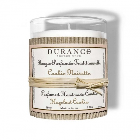 Bougie Durance Cookie Noisette