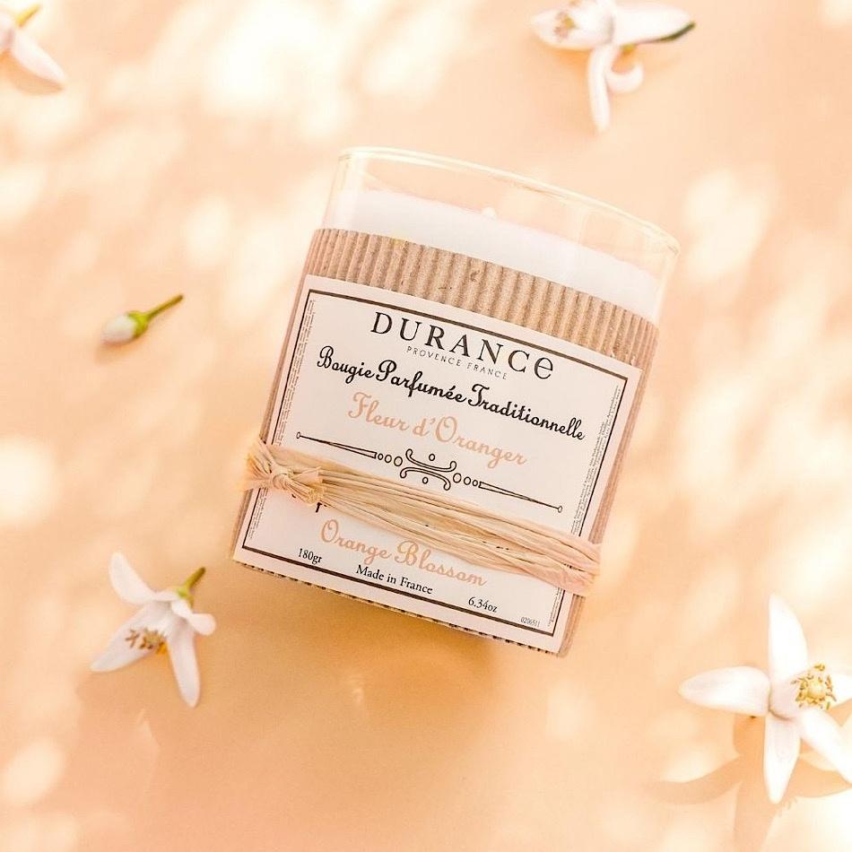 Bougie Parfumée Durance Fleur D'oranger