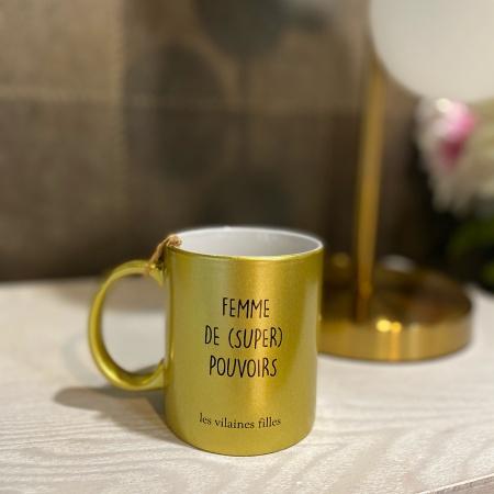 """Mug """"Femme de Super Pouvoir"""""""