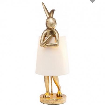 Lampe Lapin Or GM