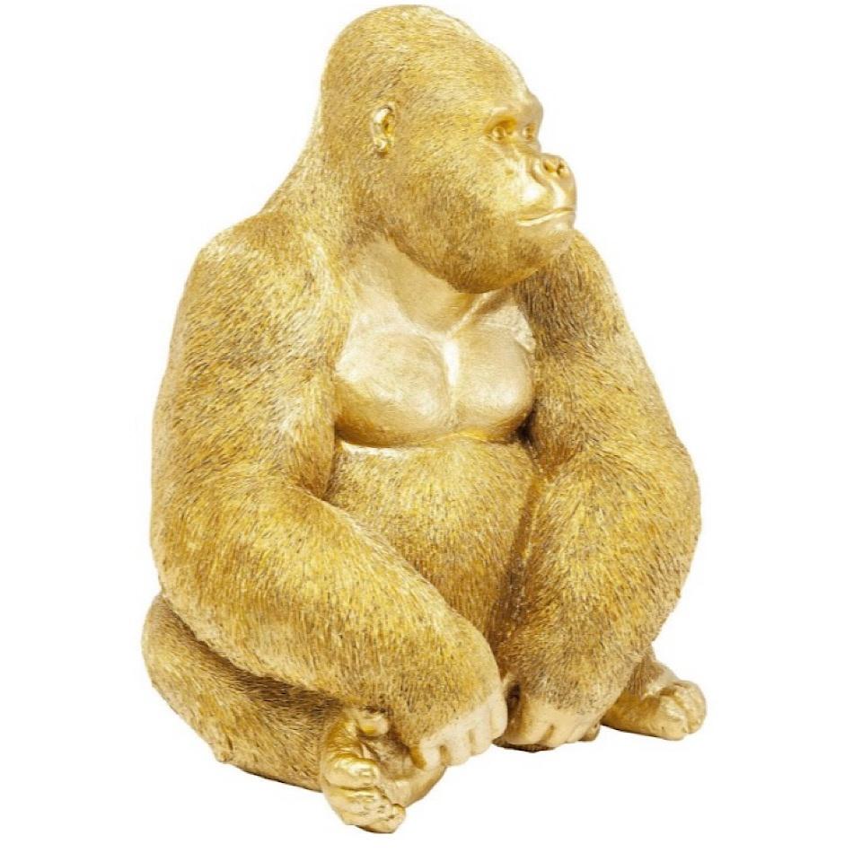 Déco Gorille Doré XL