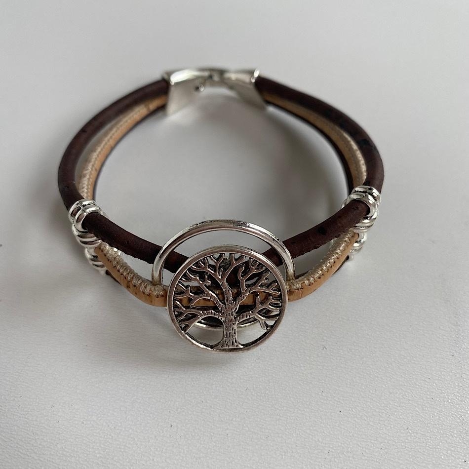 Bracelet Liège Arbre de Vie